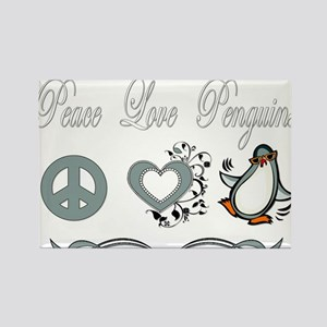 Peace Love Penguins Magnets