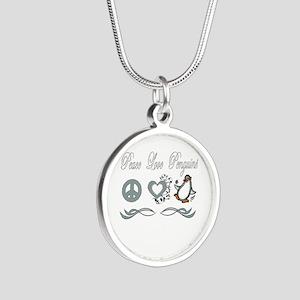 Peace Love Penguins Necklaces