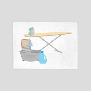 Ironing Board 5'x7'Area Rug