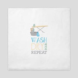 Wash Dry Repeat Fold Queen Duvet