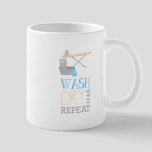 Wash Dry Repeat Fold Mugs