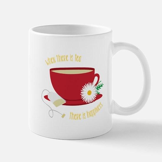 Tea Is Happiness Mugs