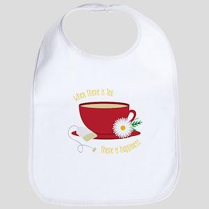 Tea Is Happiness Bib