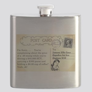 Post Office complaint humor Flask