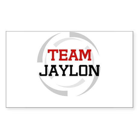 Jaylon Rectangle Sticker