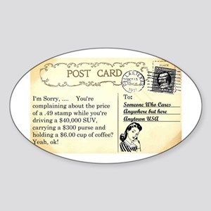 Post Office complaint humor Sticker