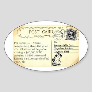 Post Office complaint humor Sticker