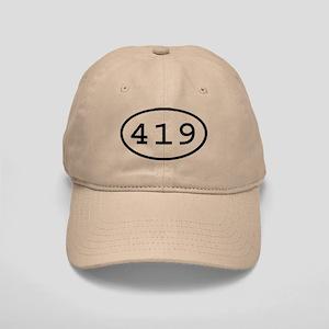 419 Oval Cap