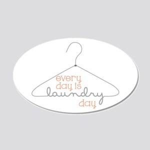 Every Day Is Laundry Day Wall Decal