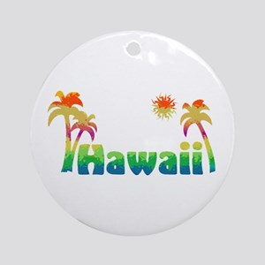 Hawaii (Sketch) Ornament (Round)