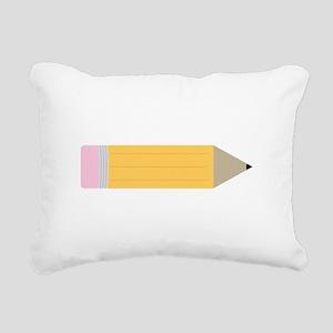 Pencil Rectangular Canvas Pillow