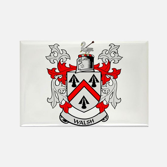 WALSH Coat of Arms Rectangle Magnet