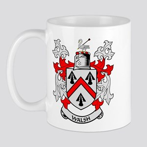WALSH Coat of Arms Mug