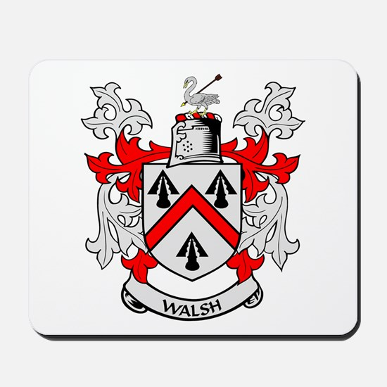 WALSH Coat of Arms Mousepad