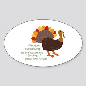May Your Thanksgiving Sticker