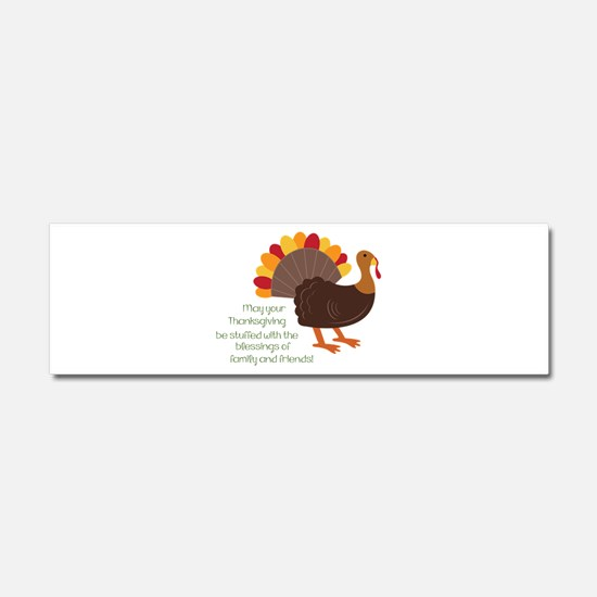 May Your Thanksgiving Car Magnet 10 x 3
