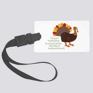 May Your Thanksgiving Luggage Tag