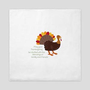 May Your Thanksgiving Queen Duvet