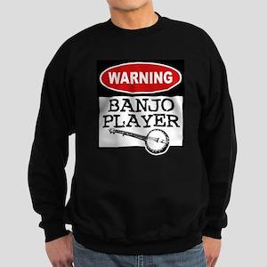 warningbanjoclr Sweatshirt