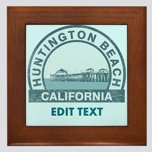 Huntington Beach Framed Tile