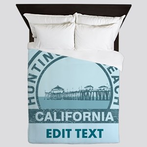 Huntington Beach Queen Duvet