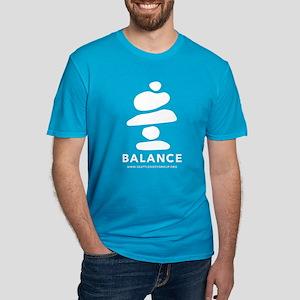 Balance Rocks Men's Fitted T-Shirt
