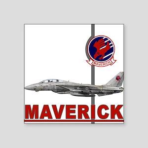 Top Gun Rectangle Sticker