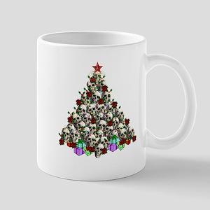Merry Christmas Skulls 2 Mug