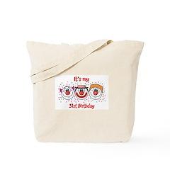 Its my 31st Birthday (Clown) Tote Bag