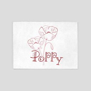 Poppy 5'x7'Area Rug