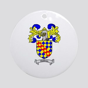 WALDRON Coat of Arms Ornament (Round)