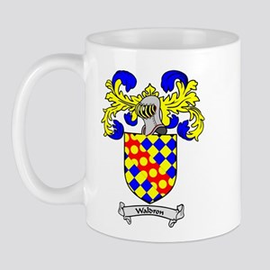 WALDRON Coat of Arms Mug