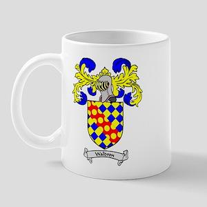 WALDRON Coat of Arms Mug