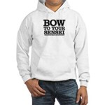 Bow to your Sensei - martial art hooded sweat