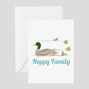 Happy Family Greeting Cards
