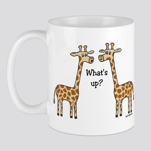 What's up? Giraffe Mug