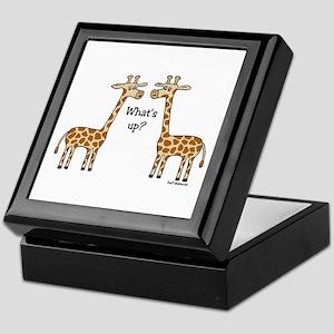 What's up? Giraffe Keepsake Box