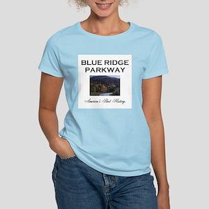 Blue Ridge Americasbesthistory.com Women's T-Shirt