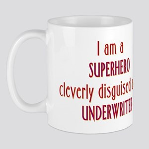 Superhero Underwriter Mug