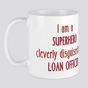 Superhero Loan Officer Mug