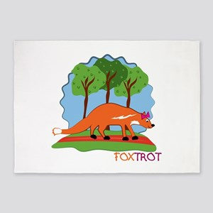 Fox Trot 5'x7'Area Rug