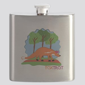 Fox Trot Flask