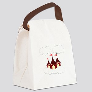 Circus Clouds Canvas Lunch Bag