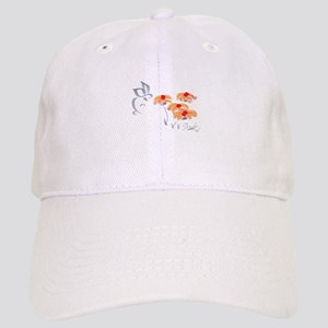 orange flower Cap