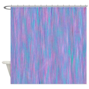 Purple Bling Shower Curtains