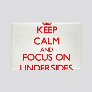 Keep Calm and focus on Undersides Magnets