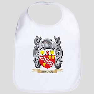 Ricardo Coat of Arms - Family Crest Baby Bib