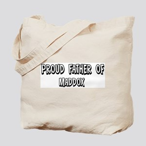 Father of Maddox Tote Bag