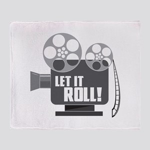 LET IT ROLL! Throw Blanket