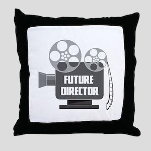 FUTURE DIRECTOR Throw Pillow